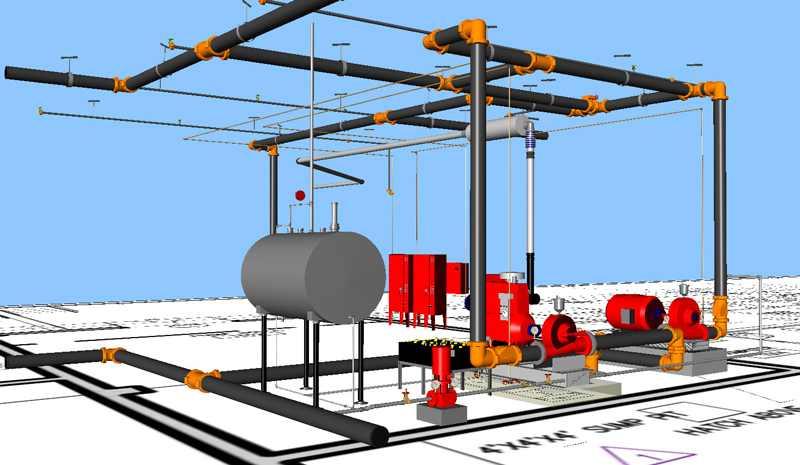 Kết quả hình ảnh cho fire fighting system design